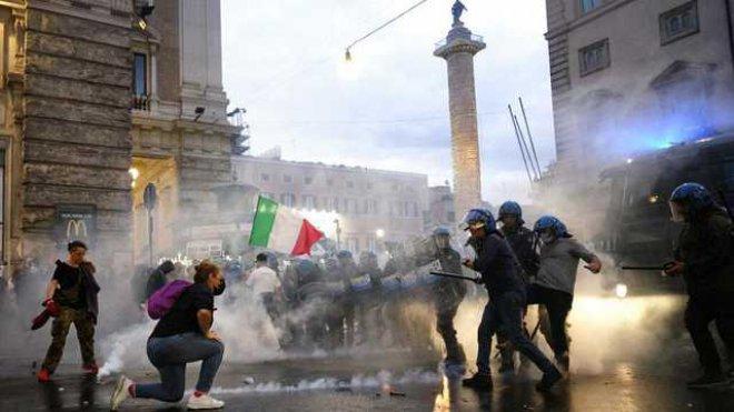 Roma. Assalto alla CGIL: anche Roberto Fiore (Forza Nuova) tra gli arrestati