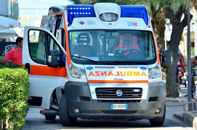 Ambulanza del 118 (foto di archivio) align=