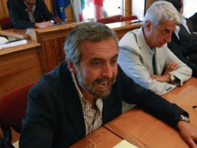 Da sinistra, Nazzareno Orlando e Angelo Fusaro