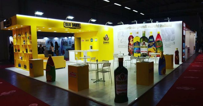 Olio Dante al Cibus 2016 di Parma