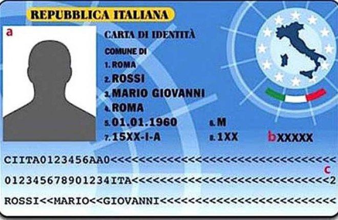 carta identita'