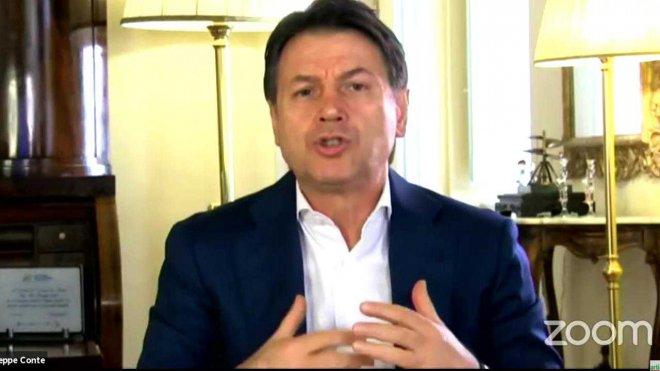 M5S. L'ex presidente del Consiglio Giuseppe Conte
