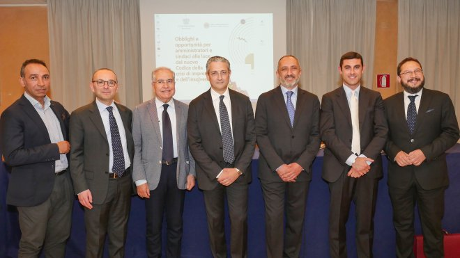 Confindustria Benevento e Ordine dei Dottori Commercialisti e degli esperti Contabili, Seminario Codice della Crisi di impresa