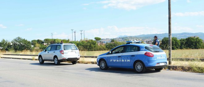 Squadra Volanti. Controlli di Polizia