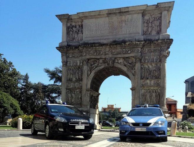 Benevento - Polizia e Carabinieri