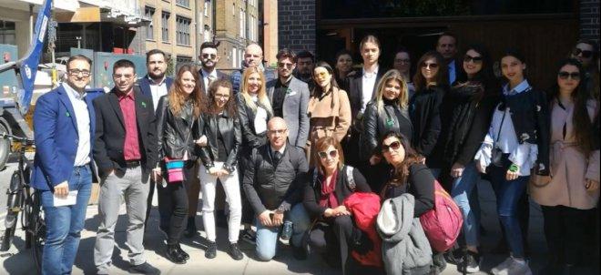 Studenti Unifortunato in viaggio studi a Cambridge