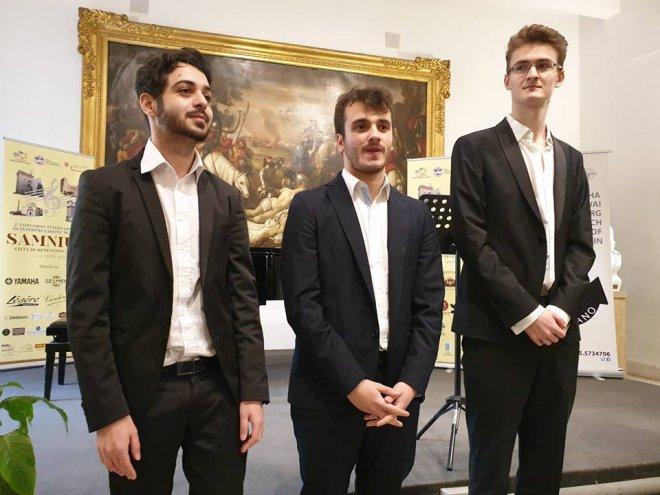 Vincitori della sezione Oboe