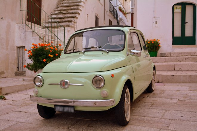 Auto cult: Fiat 500