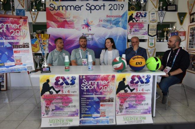 Presentazione Summer Sport 2019