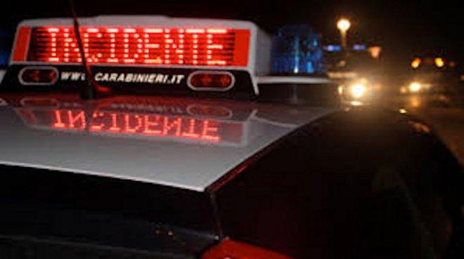 Carabinieri - incidente stradale