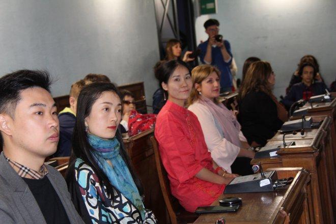 Inaugurata alla Provincia di Benevento la Mostra di pittura tradizionale cinese
