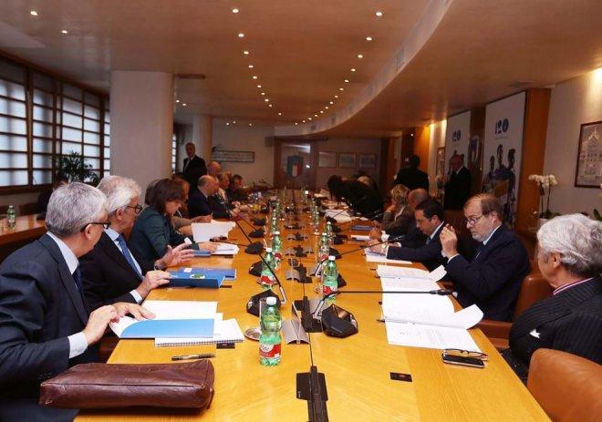 Consiglio Federale. Foto FIGC