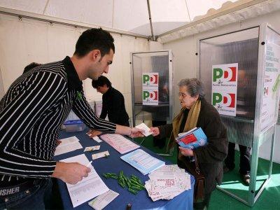 Le primarie del PD a Benevento (foto di archivio)