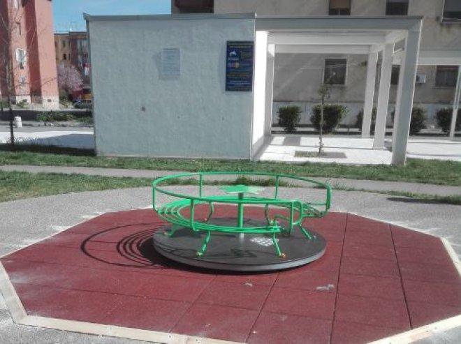 gioco nel parco della Spina Verde