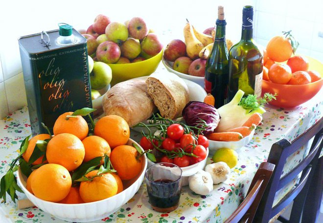 Mangiare e Salute con la Dieta mediterranea