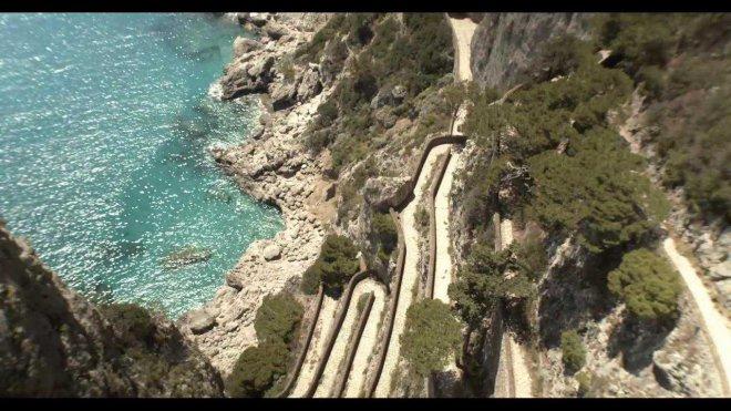 Turisti a Capri - isola covid free