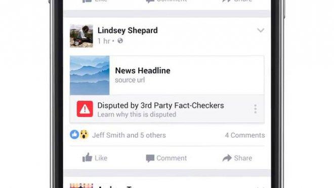 Facebook inserisce il pulsante anti bufala contro le fake news