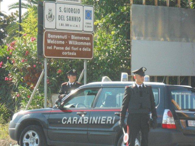 Carabinieri di San Giorgio del Sannio
