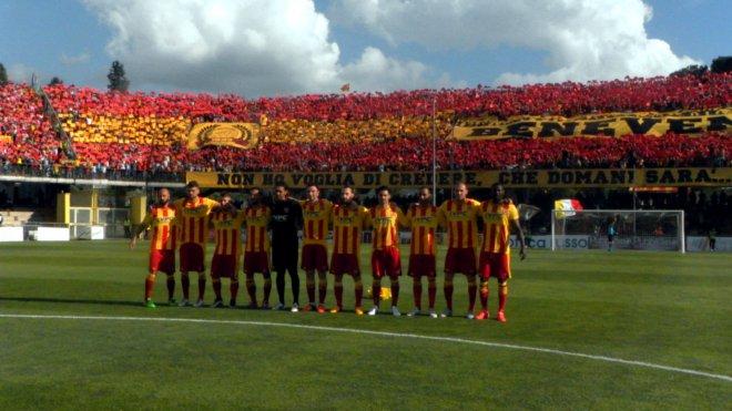 Calcio. Benevento in Serie B (30 aprile 2016) align=
