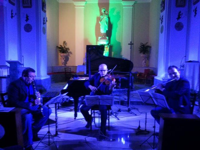 Riverberi - Appia in jazz (prima serata S. Angelo a Cupolo - 2018)