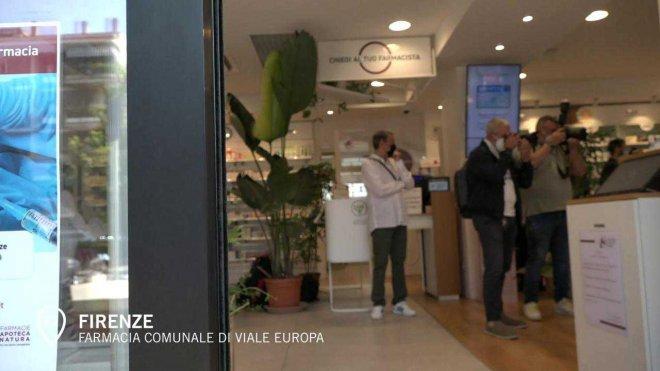 Emergenza COVID. A Firenze, le prime vaccinazioni in farmacia