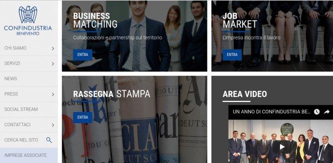 Nuovo sito Confindustria Benevento
