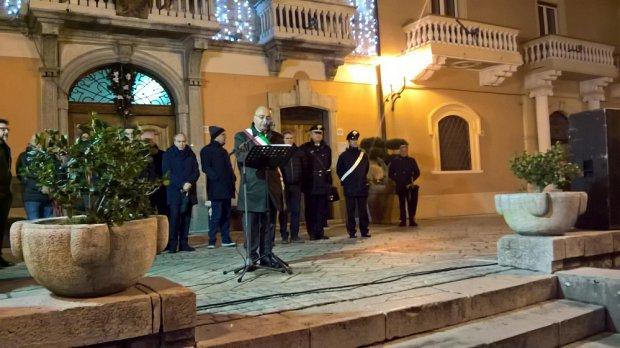 San Marco dei Cavoti. Il sindaco Giovanni Rossi inaugura la Festa del Torrone e del Croccantino