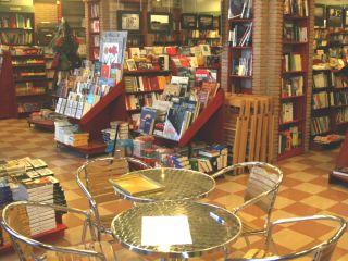 L'interno della libreria