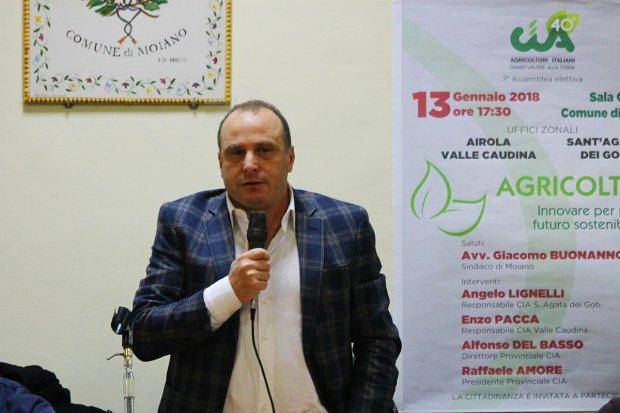 Raffaele Amore, presidente CIA Benevento