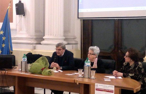 Palazzo del Governo - Anno sociale della Societa' Dante Alighieri, il prefetto Cappetta