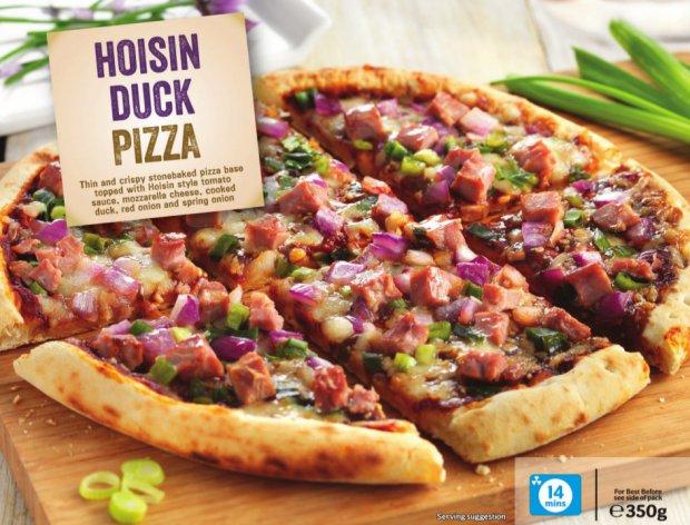 Pizza Duck (surgelata), un gusto strano che piace agli stranieri