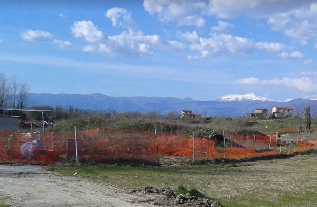 Puglianello, ex discarica Marrucaro.