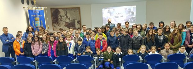 Gdf e studenti San Marco dei Cavoti