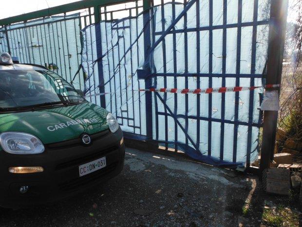 Sarno. Sequestro dei Carabinieri Forestali