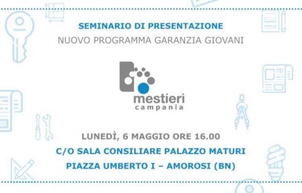 Garanzia Giovani, seminario ad Amorosi