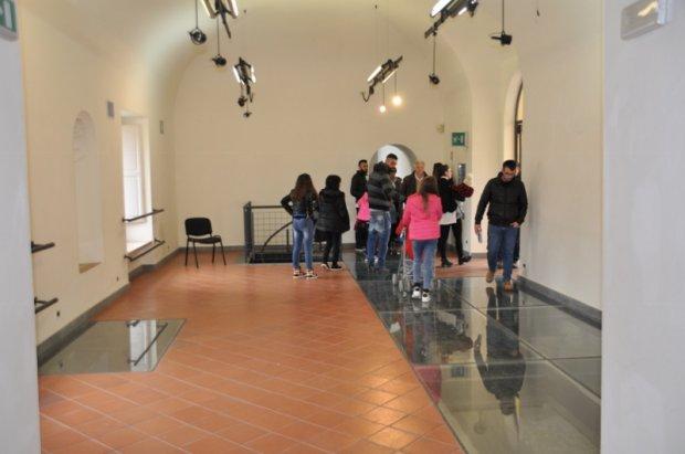 Sale espositive della Rocca dei Rettori