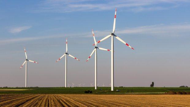 Parco eolico (foto di archivio)