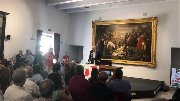 Conferenza Stampa De Caro