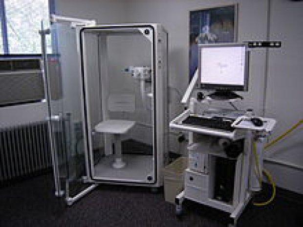 Al Rummo Uno Spirometro Con Cabina Pletismografia All