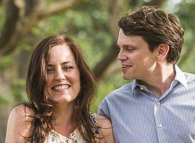 I novelli sposi Giuliana e Ryan