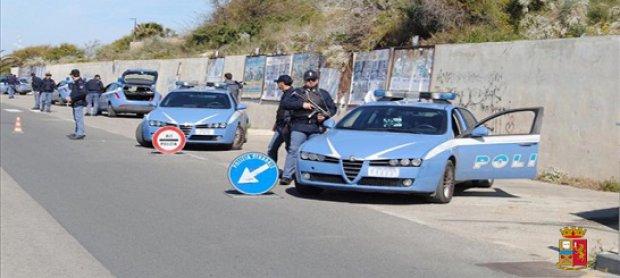 Avellino. Controlli della Polizia