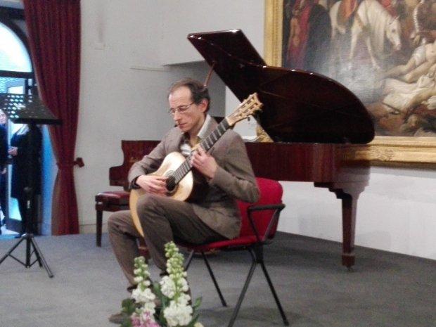 Stefano Pagliuca, figlio del Maestro Silvano