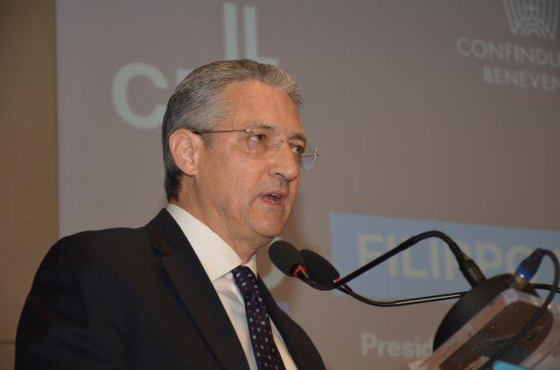 Filippo Liverini, presidente di Confindustria Benevento