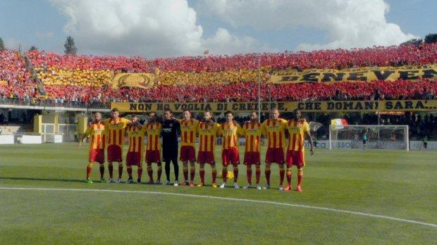 Calcio. Benevento in Serie B (30 aprile 2016)