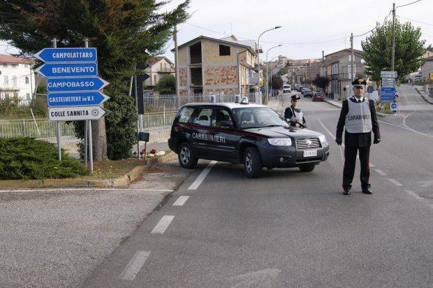 carabinieri colle sannita