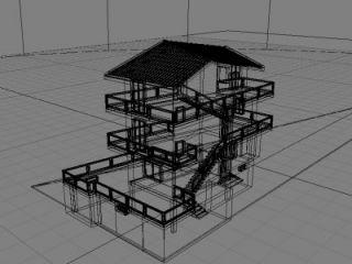 Progetto architettonico, particolare