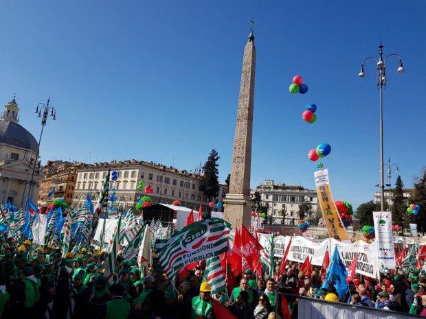 Roma. Primo sciopero generale del settore costruzioni dopo 20 anni (CGIL CISL UIL)