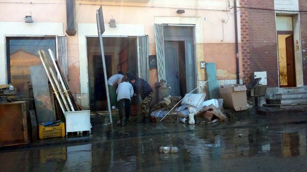 Nubifragio nel Sannio - Benevento, Ponticelli