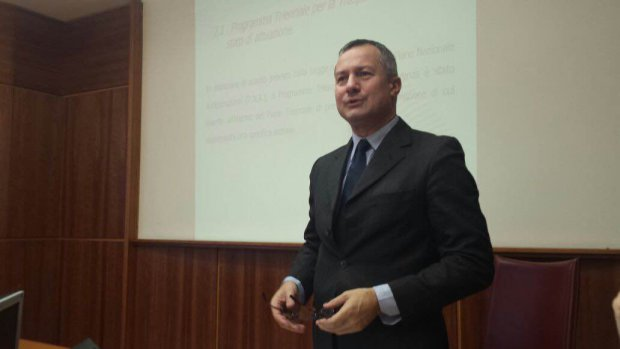Bernardino Quattrociocchi. Foto: CameradiCommercioLatina