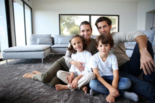 casa sicura per la sicurezza della famiglia